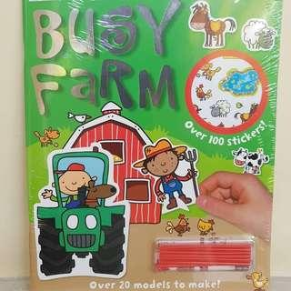 BUKU ANAK : Press Out and Play, In The Farm