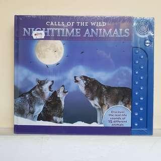 BUKU ANAK NEW : Calls Of The Wild, Nighttime Animals