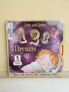 BUKU ANAK NEW : Turn and Learn 123 Dreams