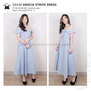 Stripes dress by Macadamia House