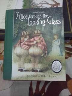 "Buku Cerita Anak ""Alice Through the Looking-Glass by Lewis Carol"""