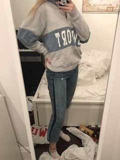 Brandy Melville Newport Quarter zip Sweater