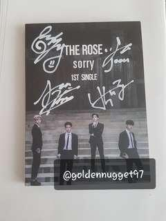 THE ROSE PROMO SIGNED SORRY ALBUM