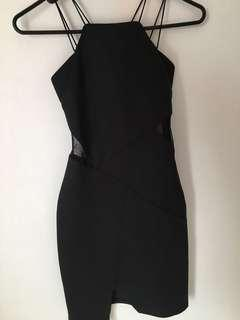 Love Bonito black dress