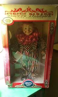 Moving sale. Genuine Porcelain Clown Doll.