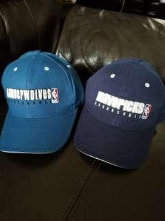 Reebok NBA Cap帽 Mavericks basketball ×2