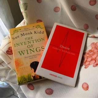 TAKE ALL! Haruki Murakami, Sue Monk Kidd