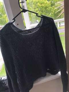 Mirrou crop sweater