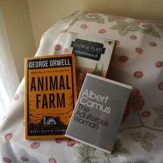 TAKE ALL! George Eliot, George Orwell