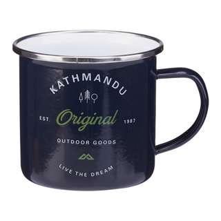 Kathmandu Navy Enamel Cup
