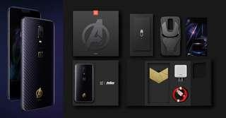 Limited Ed. 5mths Great Condition. Avengers Edition OnePlus 6 Gaming Phone.