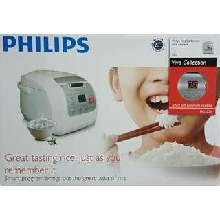 BRAND NEW Philips Rice Cooker 1L HD3030