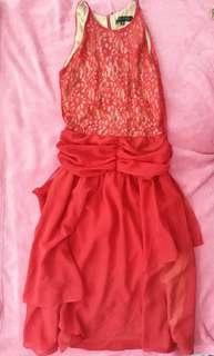 Gown/formal Red dress