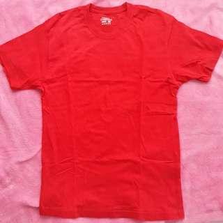 Red orange TShirt round neck