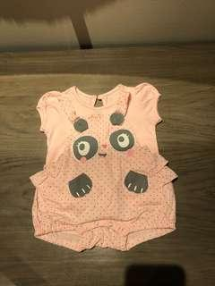 Pink Baby Set of Jumper and Shirt