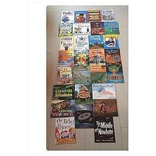 🚚 41 bookset: 33 BN Edventure Rigby Literacy Fluent Readers + 8 free