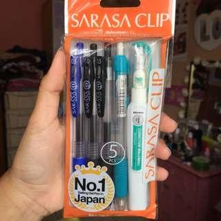 Sarasa Clip Stationary Set