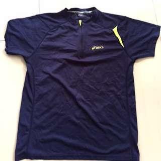 Original Asics Running Shirt with zipper