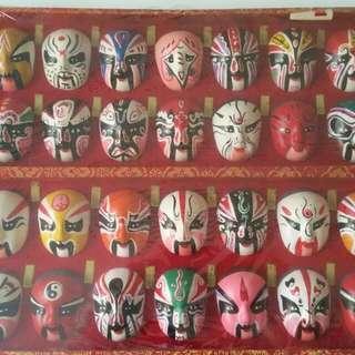 Romance Of 3 Kingdoms Art Masks
