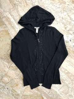 Knitted Sweatshirt Black