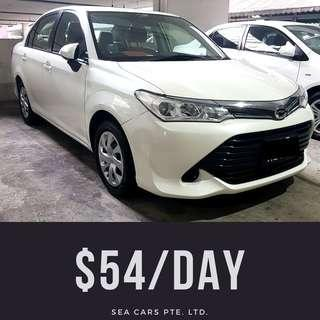 2016 Axio 1.5A Toyota Rental for Grab / Personal Usage