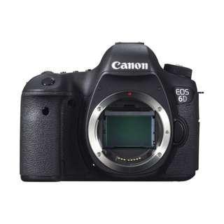 (11.11 SALE) New Canon EOS 6D Body (Canon Malaysia Set 1+2 Years Warranty)