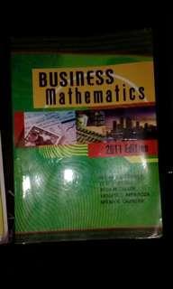 Business Mathematics 2011 Edition
