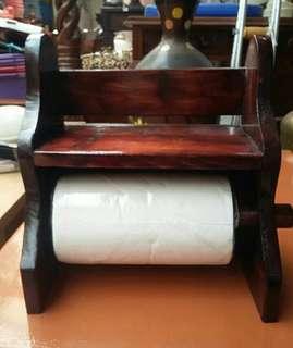 Tissu gulung kayu jati