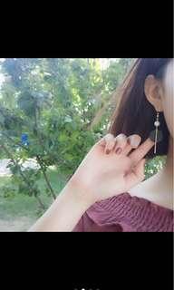 🚚 降價出清👏耳環 有一邊微瑕疵