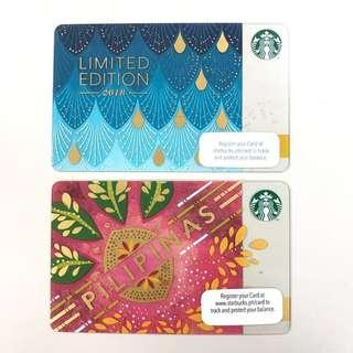 Starbucks Cards limited edition
