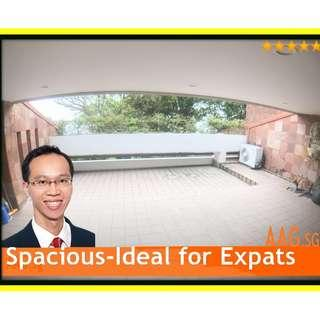 Super Spacious 4+1 Bedroom for Rent. 7mins to Circle Line Pasir Panjang MRT.