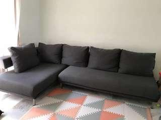 L shape sofa 5 seater with chaise LAST PRICE!