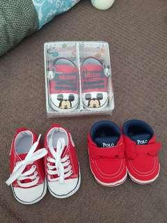 3 pairs for 300 baby boy shoes