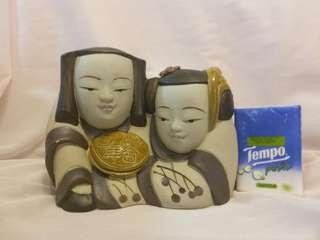 全新百年好合陶瓷擺設