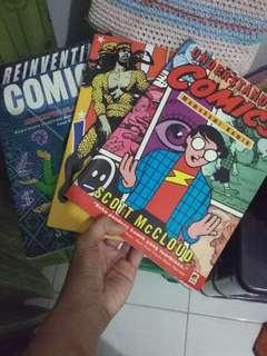 Bundling buku teori komik Marcel Boneff dan Scott McCloud