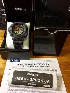 Japan JDM Version Casio G-Shock Men in Camouflage Series Urban Grey Camo Mudman GW9300 Watch