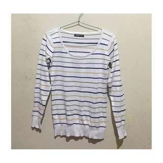Garis-garis sweatshirt