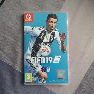 Nintendo Switch FIFA 19 #SINGLES1111