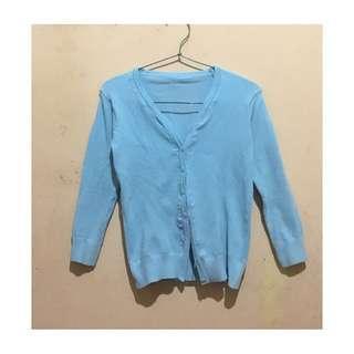 Blue light cardigan