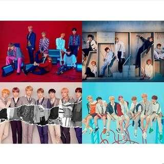 WTS POSTER BTS ANSWER LOVE YOURSELF