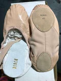 Bloch ballet leather shoes plus Free Balera tights