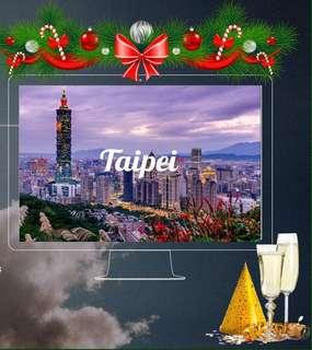 HOLIDAY TRAVEL! 3D2N Taipei Free and Easy Tour Package