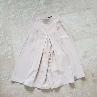 AWD Beige / Sand Pleated Culottes
