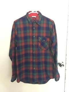 Vintage Style Korean Flannel