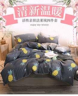 🚚 Bedsheets Set (4pcs set)