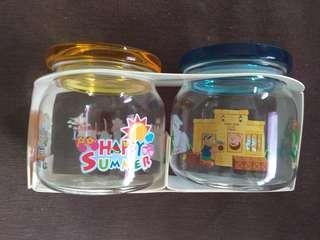 BN HK Disneyland Duffy bear jars