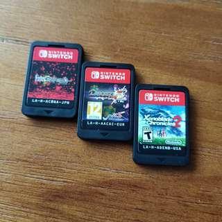 Nintendo Switch Games - Estella, Xenoblade, Disgaea, Zelda