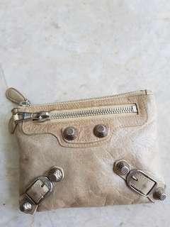 Balenciaga coin / cosmetic pouch