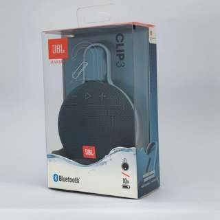 🚚 [全新]JBL Clip 3 防水掛鉤藍芽喇叭 藏青色