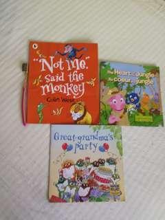 3 children books